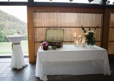 Special touches in a magical setting