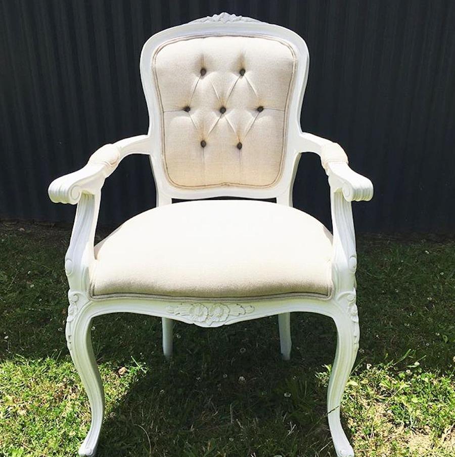 Linen Dining Chair