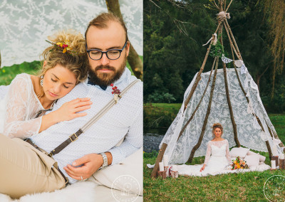 Personal wedding styling.