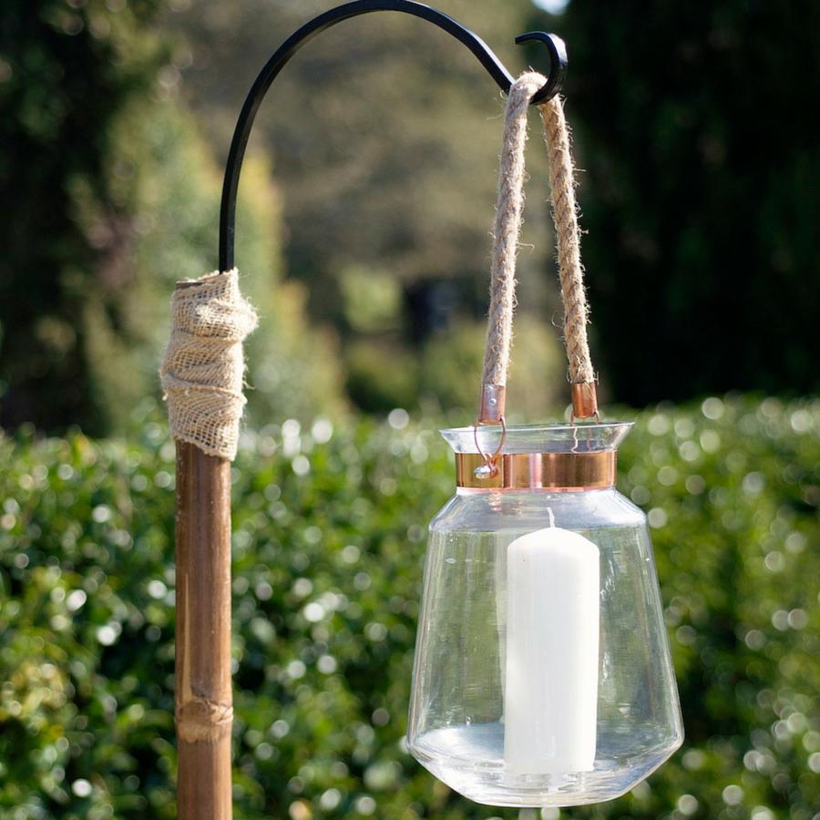 copper standing lanterns