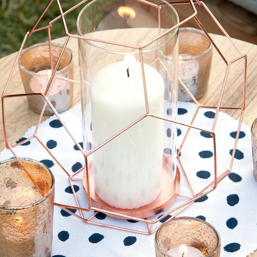 Copper wire votives