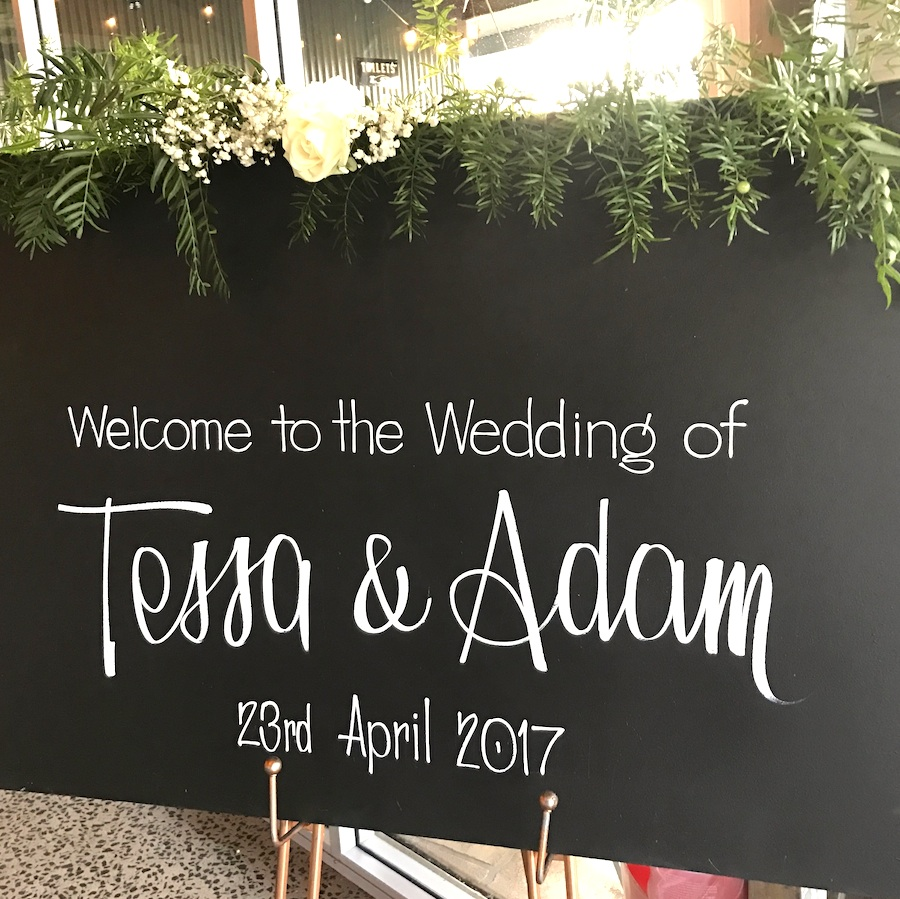Custom Chalk Signs