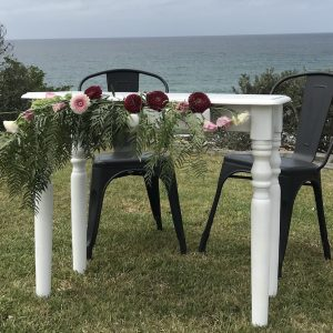 Vintage Signing Table