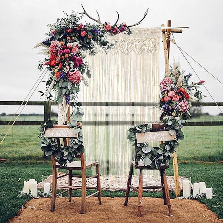 Boho Macrame Backdrop