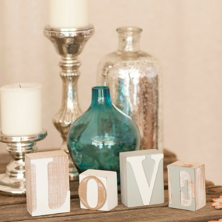 Wooden LOVE Letters