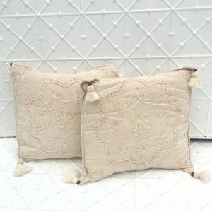 Boho Natural Cushions