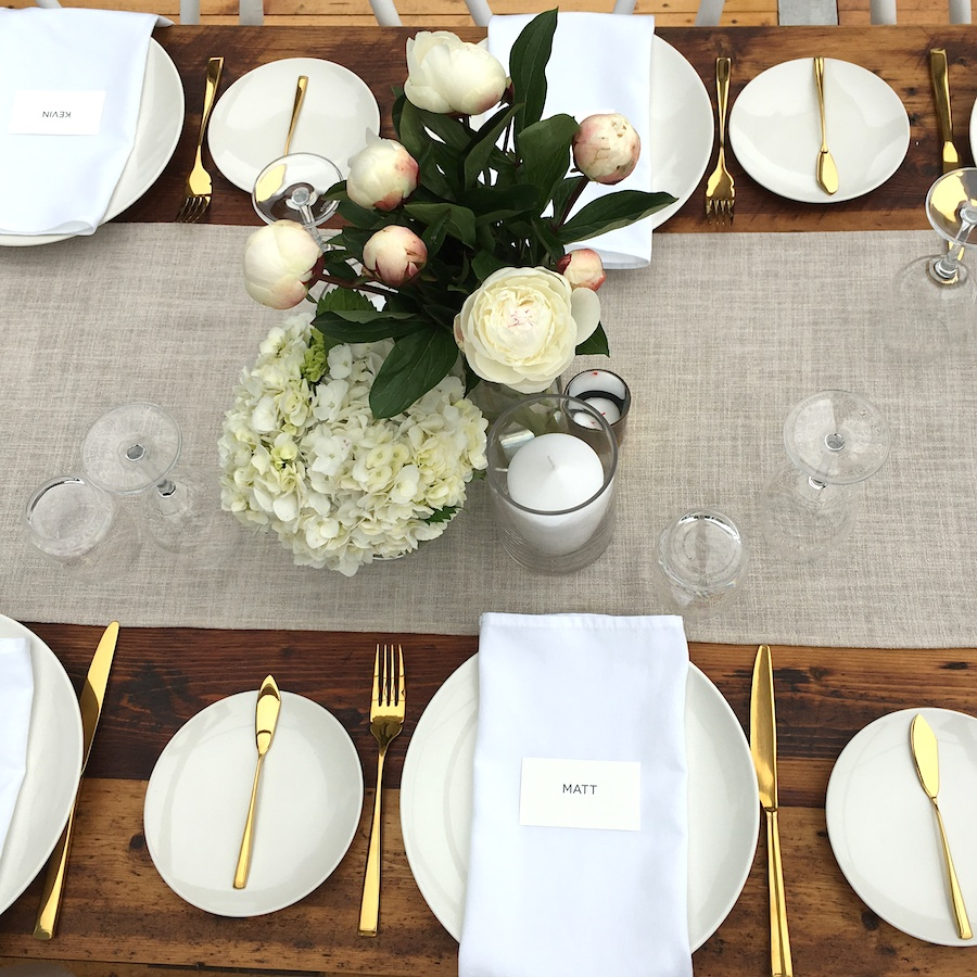 Linen Table Runners