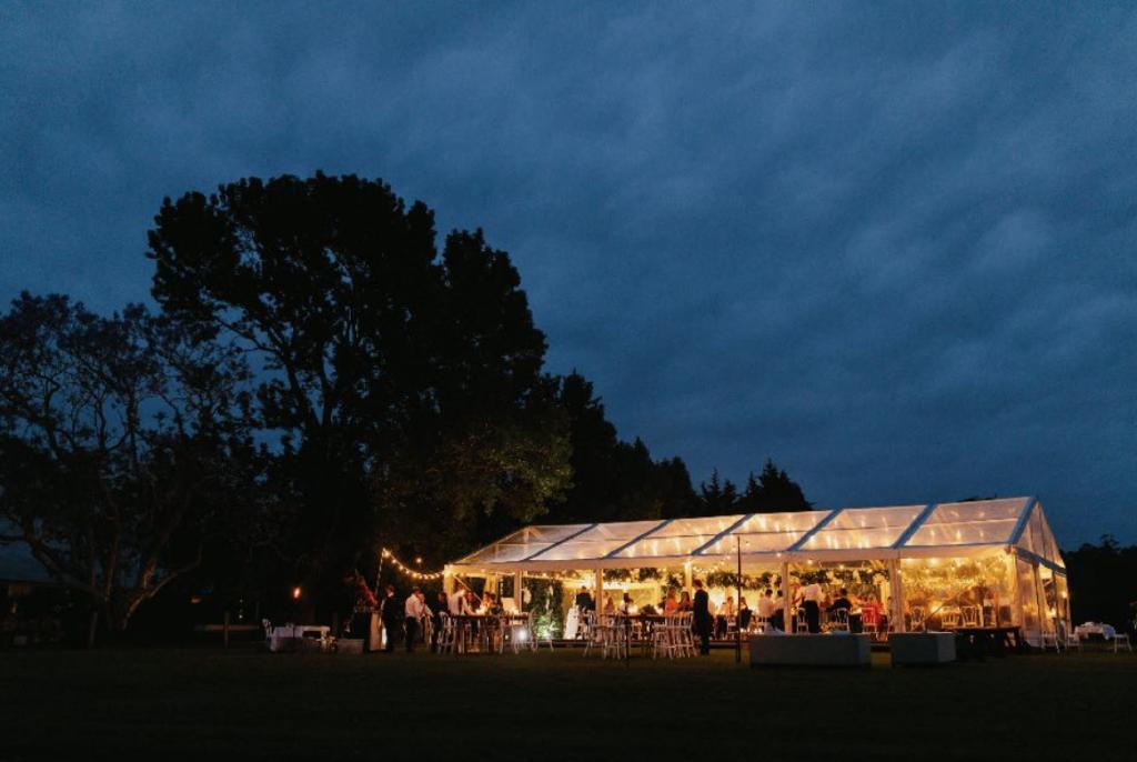 Lighting the way on your Wedding Day - Hoorah Events