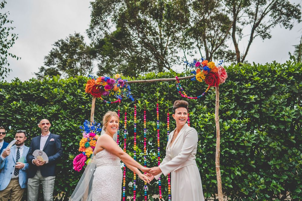 Real Wedding: Louise + Tiff